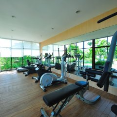 Отель Ramada by Wyndham Phuket Southsea фитнесс-зал фото 4