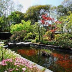 Отель Nishitetsu Grand Фукуока приотельная территория фото 2