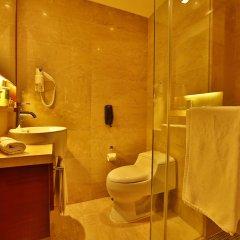 Отель Rayfont Downtown Hotel Shanghai Китай, Шанхай - 3 отзыва об отеле, цены и фото номеров - забронировать отель Rayfont Downtown Hotel Shanghai онлайн ванная