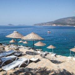 Soothe Hotel Турция, Калкан - отзывы, цены и фото номеров - забронировать отель Soothe Hotel онлайн пляж фото 2
