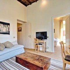 Апартаменты Trevi Stylish Apartment Рим комната для гостей фото 5