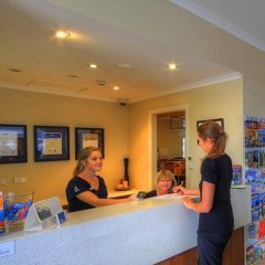 Отель Tropixx Motel & Restaurant интерьер отеля