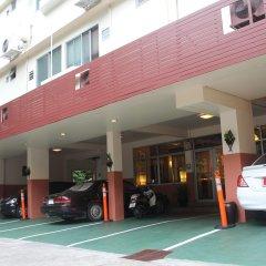 Отель Bs Court Boutique Residence Бангкок парковка