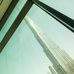 Отель Bravoway Burj Vista 1 in Downtown Dubai интерьер отеля