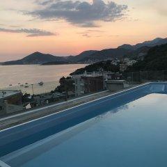 Отель Apartmani Vujanovic Черногория, Пржно - отзывы, цены и фото номеров - забронировать отель Apartmani Vujanovic онлайн бассейн фото 2