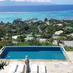 Отель Villa Manatea - Moorea Французская Полинезия, Папеэте - отзывы, цены и фото номеров - забронировать отель Villa Manatea - Moorea онлайн пляж