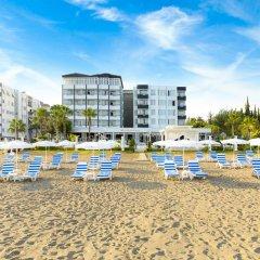 Sahil Marti Hotel Турция, Мерсин - отзывы, цены и фото номеров - забронировать отель Sahil Marti Hotel онлайн пляж фото 2