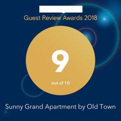 Апартаменты Sunny Grand Apartment By Old Town Рига с домашними животными