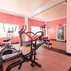 Отель The Train Resort фитнесс-зал