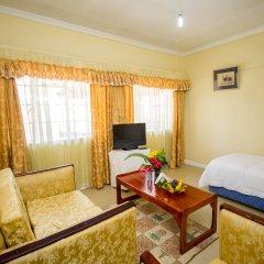Отель Jumuia Guest House Nakuru Кения, Накуру - отзывы, цены и фото номеров - забронировать отель Jumuia Guest House Nakuru онлайн комната для гостей фото 3