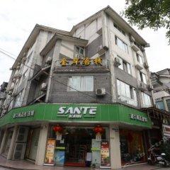 Dujiangyan Jin An Hostel вид на фасад фото 2