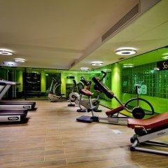 Отель Sofitel Lyon Bellecour фитнесс-зал