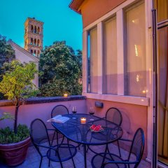 Отель Aenea Superior Inn Италия, Рим - 1 отзыв об отеле, цены и фото номеров - забронировать отель Aenea Superior Inn онлайн балкон фото 3