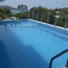 Hotel Corona Zihua Сиуатанехо бассейн фото 3