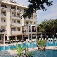 Hera Beach Hotel Турция, Сиде - отзывы, цены и фото номеров - забронировать отель Hera Beach Hotel онлайн бассейн