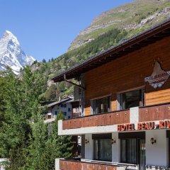 Отель Beau Rivage Швейцария, Церматт - отзывы, цены и фото номеров - забронировать отель Beau Rivage онлайн балкон
