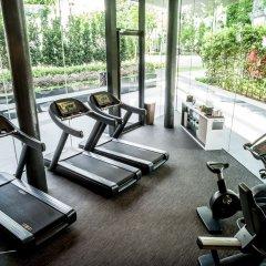 Отель InterContinental Singapore Robertson Quay фитнесс-зал