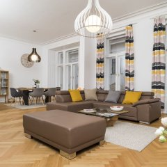Апартаменты Singerstraße Luxury Apartment Вена интерьер отеля