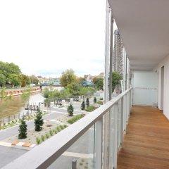 Отель apartamenty-wroc Atal Towers Вроцлав балкон
