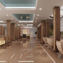 Отель Algara Beach Hotel - All Inclusive Болгария, Кранево - отзывы, цены и фото номеров - забронировать отель Algara Beach Hotel - All Inclusive онлайн интерьер отеля