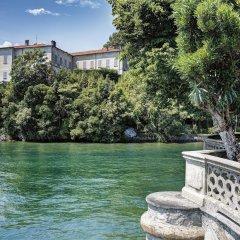 Отель Grand Hotel Majestic Италия, Вербания - 1 отзыв об отеле, цены и фото номеров - забронировать отель Grand Hotel Majestic онлайн приотельная территория фото 2