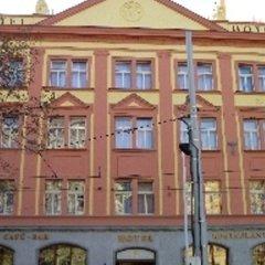 Hotel Zlatá Váha балкон