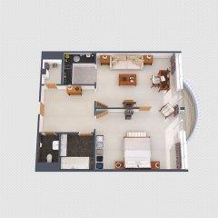 Отель The Mandala Suites Германия, Берлин - отзывы, цены и фото номеров - забронировать отель The Mandala Suites онлайн ванная фото 2