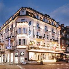 Отель Europa Splendid Горнолыжный курорт Ортлер вид на фасад