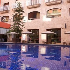 Отель Celta Мексика, Гвадалахара - отзывы, цены и фото номеров - забронировать отель Celta онлайн бассейн фото 3