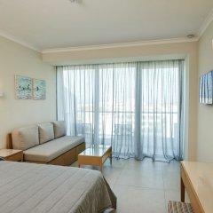 Отель Sunrise Beach Hotel Кипр, Протарас - 5 отзывов об отеле, цены и фото номеров - забронировать отель Sunrise Beach Hotel онлайн комната для гостей фото 3