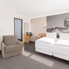 Отель NH München Messe Германия, Мюнхен - 2 отзыва об отеле, цены и фото номеров - забронировать отель NH München Messe онлайн комната для гостей фото 5
