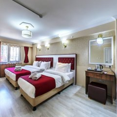 Cihangir Palace Турция, Стамбул - 1 отзыв об отеле, цены и фото номеров - забронировать отель Cihangir Palace онлайн комната для гостей фото 5
