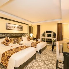 Отель Le Pavillon Hoi An Luxury Resort & Spa комната для гостей фото 2