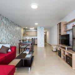 Апартаменты Infinity Terrace Apartment, Entre el Cielo y el Mar Ла-Матанса-де-Асентехо комната для гостей фото 2