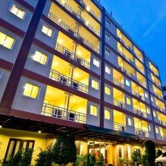 Отель Golden Sea Pattaya Hotel Таиланд, Паттайя - 10 отзывов об отеле, цены и фото номеров - забронировать отель Golden Sea Pattaya Hotel онлайн вид на фасад