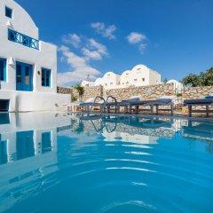 Отель Sea Side Beach Hotel Греция, Остров Санторини - отзывы, цены и фото номеров - забронировать отель Sea Side Beach Hotel онлайн бассейн фото 2