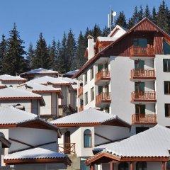 Отель Villas & SPA at Pamporovo Village Пампорово приотельная территория
