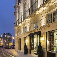 Отель Bourgogne Et Montana Париж вид на фасад