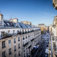 Отель DURET Париж балкон