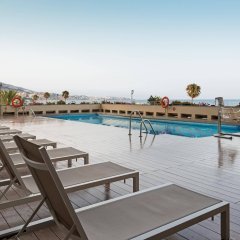 Отель ILUNION Fuengirola Испания, Фуэнхирола - отзывы, цены и фото номеров - забронировать отель ILUNION Fuengirola онлайн бассейн фото 3
