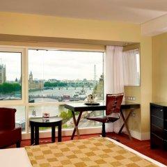 Отель Park Plaza Riverbank London Великобритания, Лондон - 4 отзыва об отеле, цены и фото номеров - забронировать отель Park Plaza Riverbank London онлайн комната для гостей фото 3