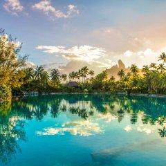 Отель The St Regis Bora Bora Resort Французская Полинезия, Бора-Бора - отзывы, цены и фото номеров - забронировать отель The St Regis Bora Bora Resort онлайн приотельная территория фото 2