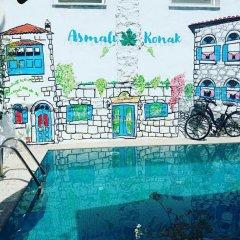 Отель Alacati Asmali Konak Otel Чешме бассейн фото 3