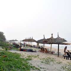 Отель Seaside An Bang Homestay пляж