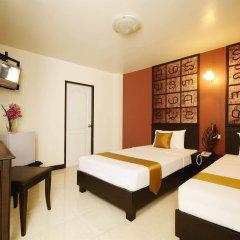 Отель Rikka Inn Бангкок комната для гостей фото 4
