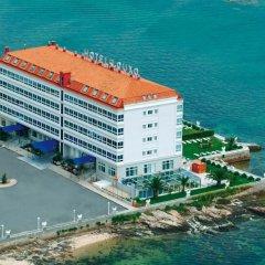 Отель Talaso Louxo-La Toja Эль-Грове пляж фото 2