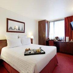 Отель Hôtel Concorde Montparnasse 4* Классический номер с различными типами кроватей фото 15
