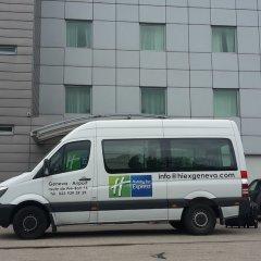 Отель Holiday Inn Express Geneva Airport городской автобус