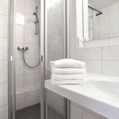 Отель Am Moosfeld Германия, Мюнхен - 3 отзыва об отеле, цены и фото номеров - забронировать отель Am Moosfeld онлайн ванная фото 2