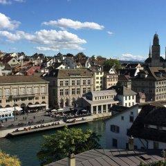Отель Kindli Швейцария, Цюрих - отзывы, цены и фото номеров - забронировать отель Kindli онлайн балкон